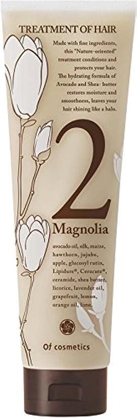 オブ?コスメティックス トリートメントオブヘア?2-Ma スタンダードサイズ(マグノリア「木蓮」の香り)210g