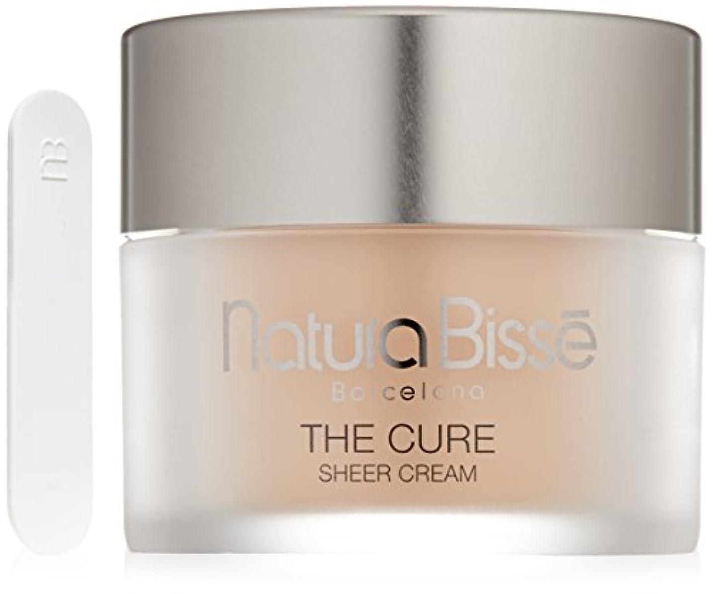 化学薬品驚き直径Natura Bisse The Cure Sheer Cream Moisturizer Sunscreen 1.7 oz