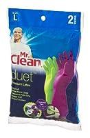 Mr。Clean Duetプレミアムラテックス手袋Lサイズ–2Pr