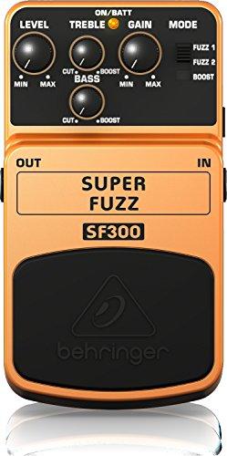 ベリンガー ギター用エフェクトペダル スーパーファズ SF300 SUPER FUZZ