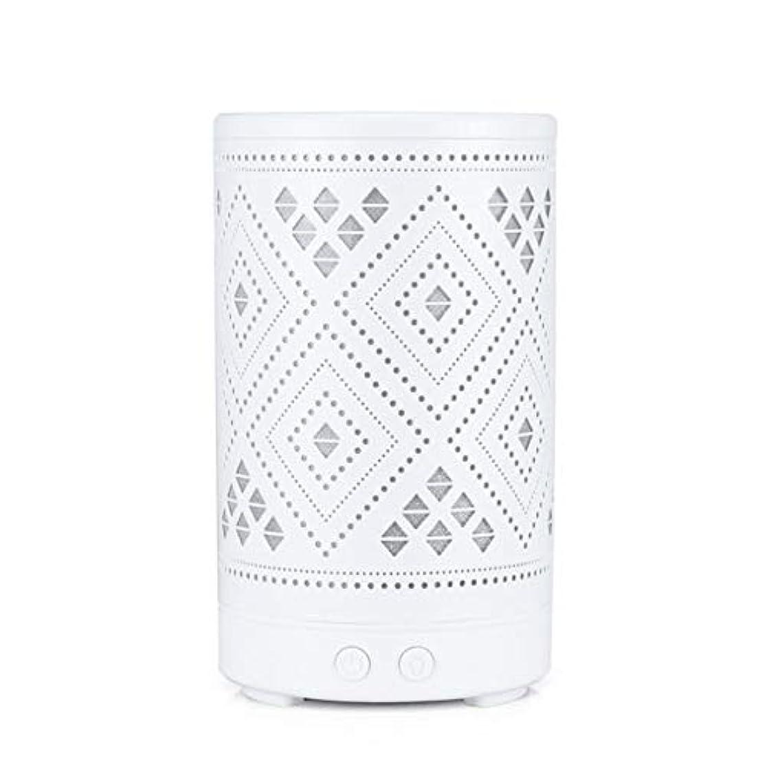 居眠りする有料なるクラシック ミニ 中空 加湿器,涼しい霧 7 色 デスクトップ 加湿機 精油 ディフューザー アロマネブライザー Yoga ベッド 寮- 100ml