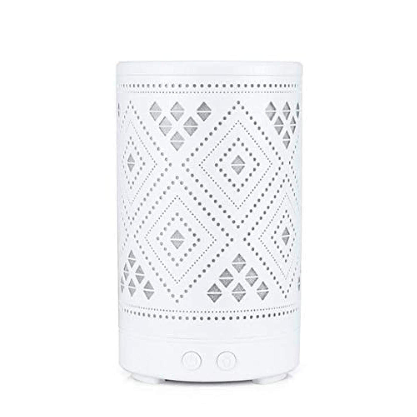 一掃する連想ハーフクラシック ミニ 中空 加湿器,涼しい霧 7 色 デスクトップ 加湿機 精油 ディフューザー アロマネブライザー Yoga ベッド 寮- 100ml