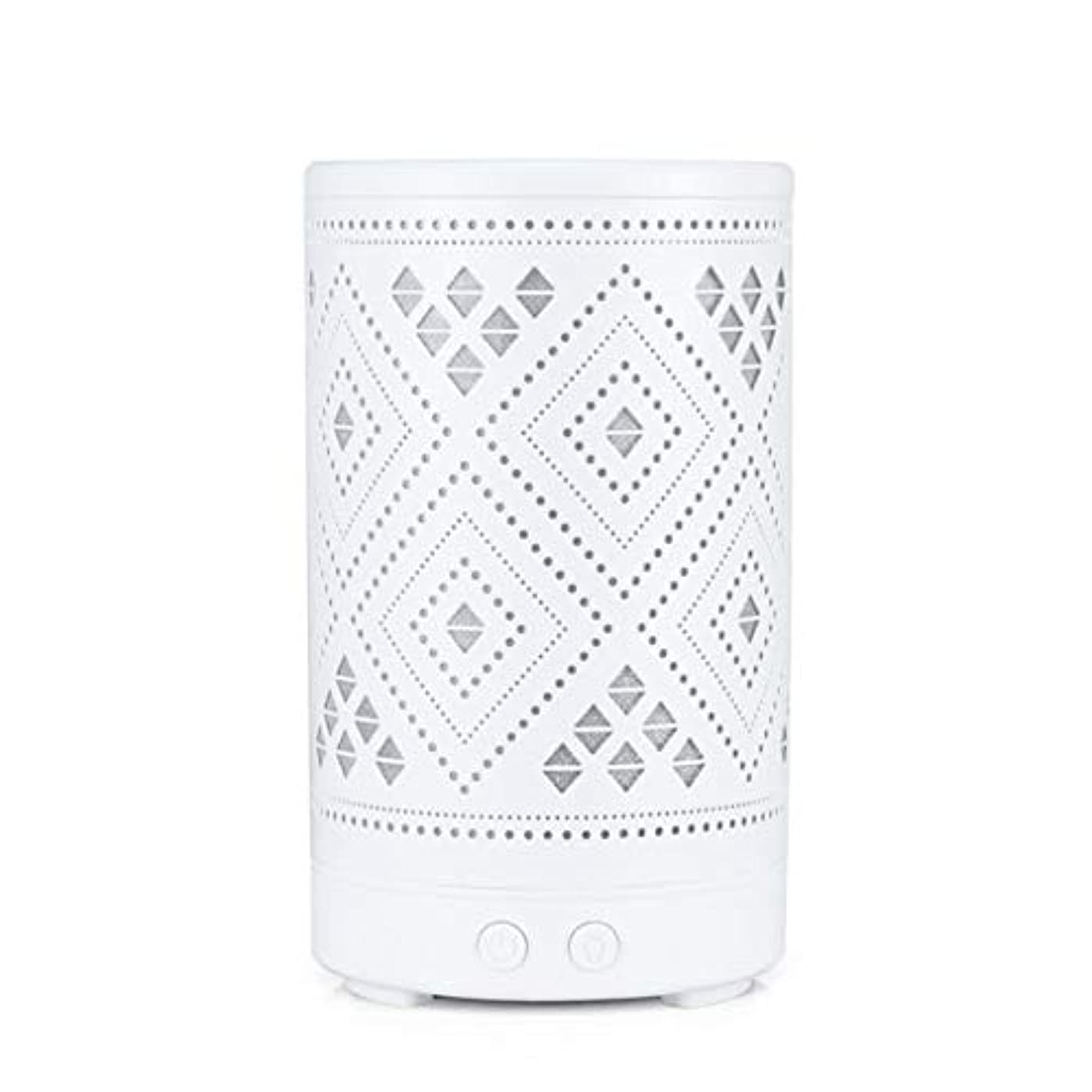 除去帰るスパンクラシック ミニ 中空 加湿器,涼しい霧 7 色 デスクトップ 加湿機 精油 ディフューザー アロマネブライザー Yoga ベッド 寮- 100ml