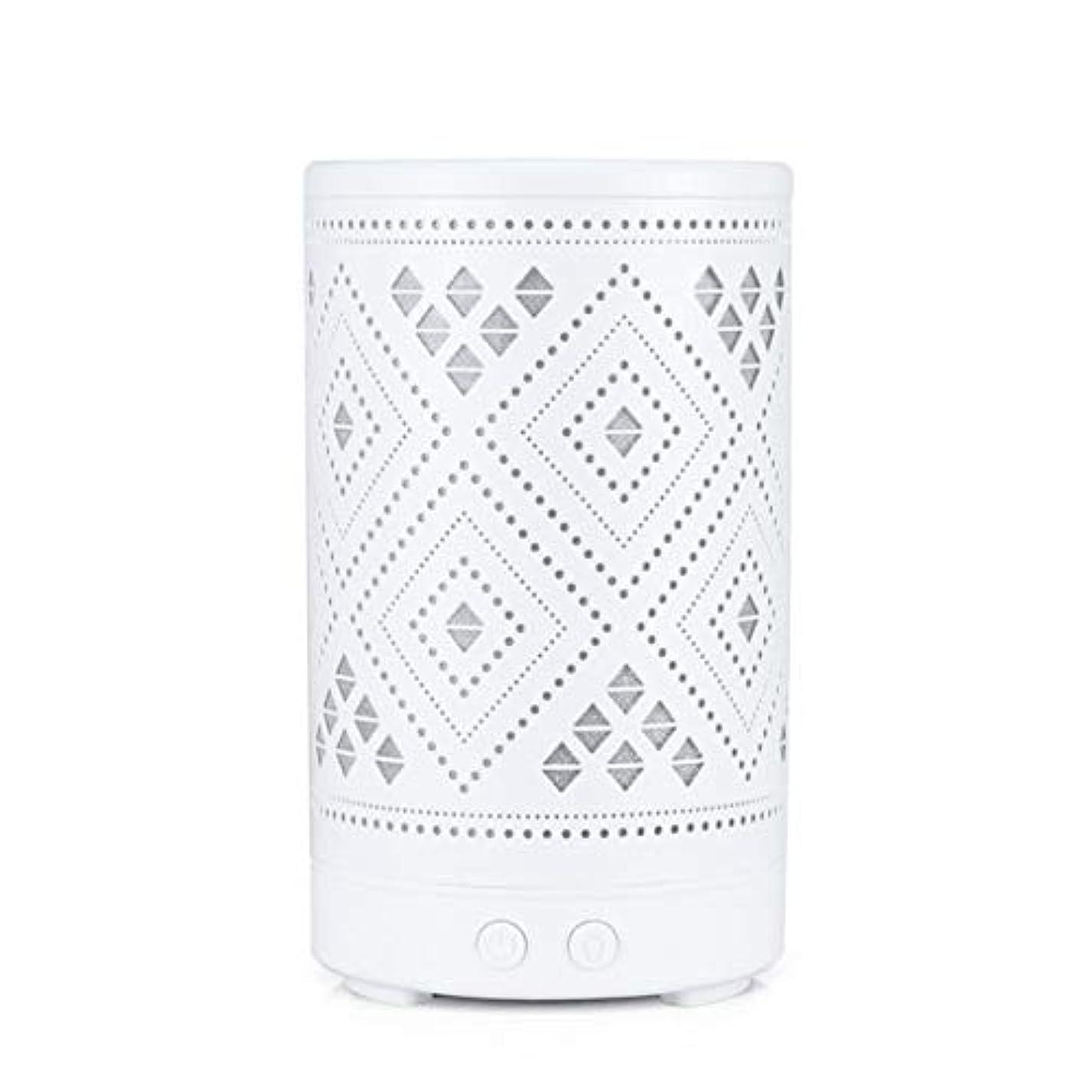 顎無力ラボクラシック ミニ 中空 加湿器,涼しい霧 7 色 デスクトップ 加湿機 精油 ディフューザー アロマネブライザー Yoga ベッド 寮- 100ml