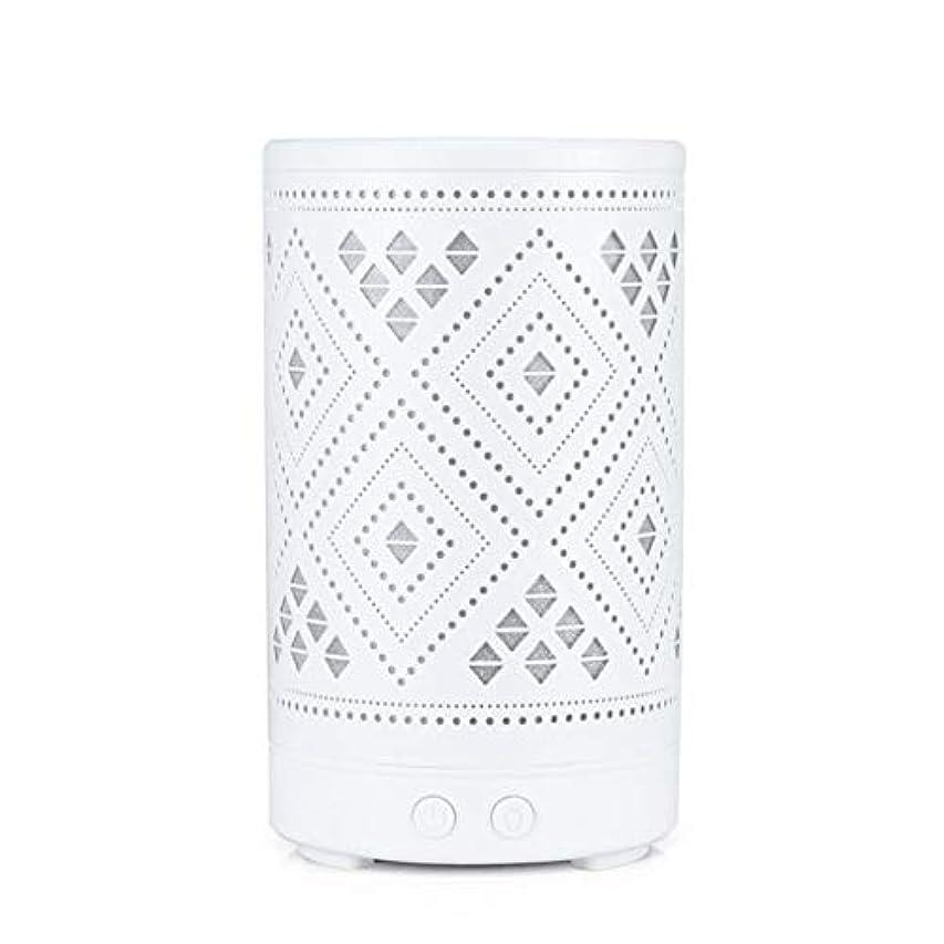 モーション記述する泣いているクラシック ミニ 中空 加湿器,涼しい霧 7 色 デスクトップ 加湿機 精油 ディフューザー アロマネブライザー Yoga ベッド 寮- 100ml