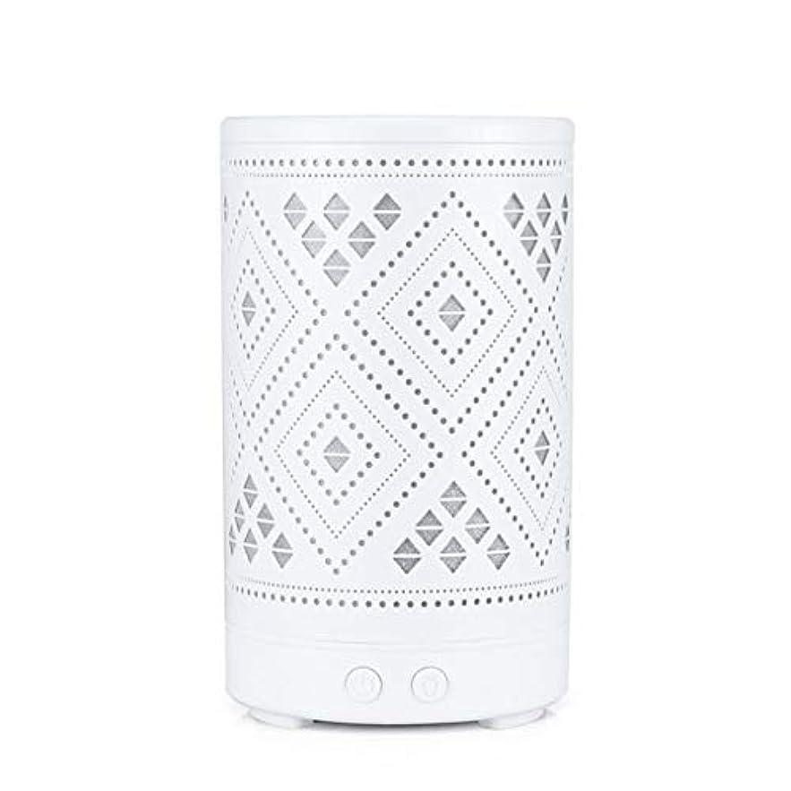 ナチュラルドナウ川砂利クラシック ミニ 中空 加湿器,涼しい霧 7 色 デスクトップ 加湿機 精油 ディフューザー アロマネブライザー Yoga ベッド 寮- 100ml