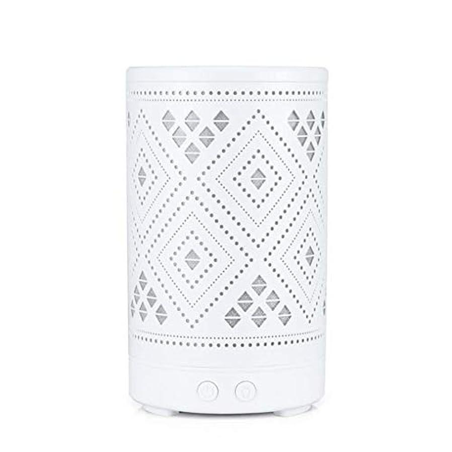 チューリップ補償ゴムクラシック ミニ 中空 加湿器,涼しい霧 7 色 デスクトップ 加湿機 精油 ディフューザー アロマネブライザー Yoga ベッド 寮- 100ml