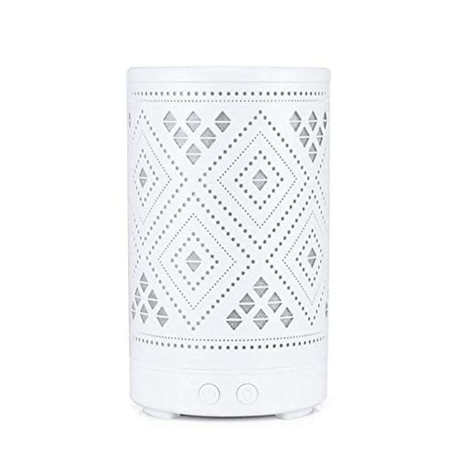 凝縮する明確にウェブクラシック ミニ 中空 加湿器,涼しい霧 7 色 デスクトップ 加湿機 精油 ディフューザー アロマネブライザー Yoga ベッド 寮- 100ml