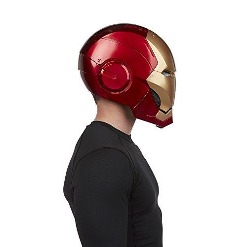 『ハズブロレプリカ マーベル・レジェンド / アイアンマン エレクトロニック ヘルメット』の11枚目の画像