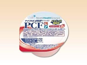 アイソカル・ジェリー PCF(ピーシーエフ) ストロベリー味 66g(80kcal)×24個/箱 【栄養機能食品】 ネスレ