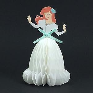 【Disney】ディズニー プリンセス ミニハニカム多目的カード アリエル MC-65161 ハニカムは360度開きます 郵送不可 APJ