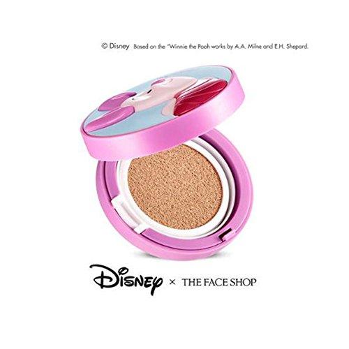 [ザ・フェイスショップ] THE FACE SHOP [CC クーリング クッション 15g #ピグレット= ディズニー コラボ] (CC Cooling Cushion 15g (Piglet) - Disney Collaboration) [海外直送品] (V201)