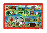 Crocodile Creek Animal Kingdom ABC Placemat by Crocodile Creek