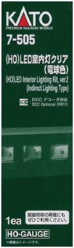 KATO HOゲージ LED室内灯クリア 電球色 7-505 鉄道模型用品