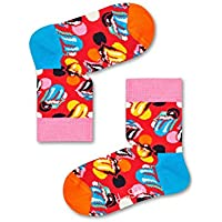 Happy Socks Men's Kids Rolling Stones Sock Box Set, Multicoloured, 12-24 MONTHS