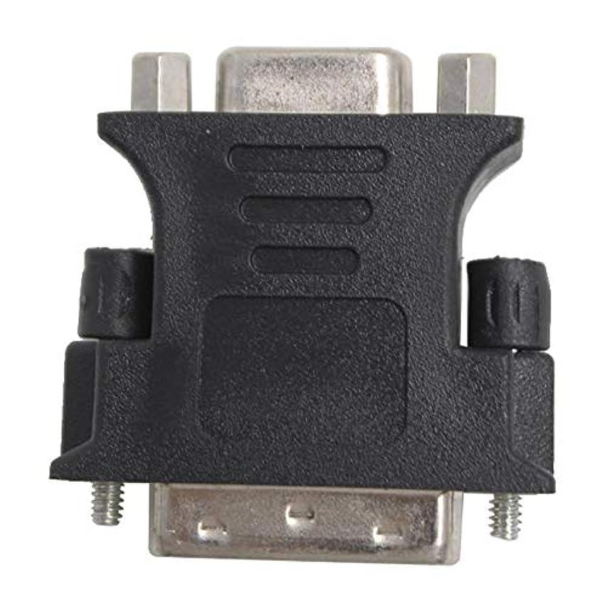 レジ舌なチケットWOWQ ® 小型アダプタ 18+5(DVI-I シングルリンク:オス) × VGAメス