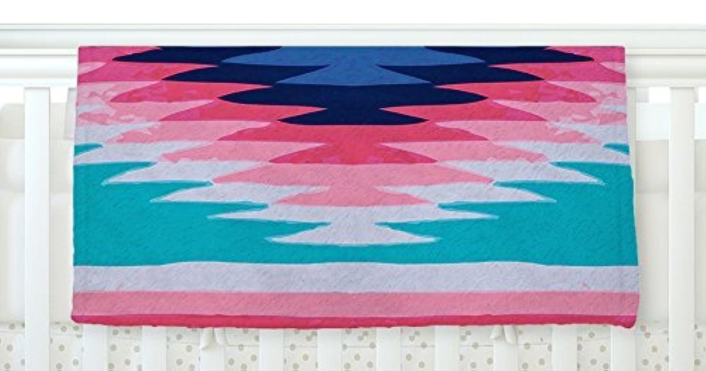KESS InHouse Nika Martinez Surf Lovin II Fleece Baby Blanket 40 x 30 [並行輸入品]