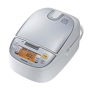 パナソニック IHジャー炊飯器 5.5合 シルバーホワイト SR-HC104-W