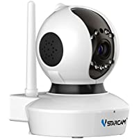 ネットワークカメラ Vstarcam ベビーモニター 監視カメラ 720P 100万画素 SDカード付き C7823WIP