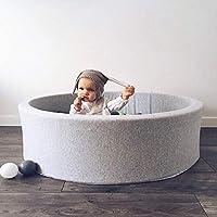 Tivolii 丸い遊び プール 幼児 ベビーボール プール ストレス防止 海 ボール 面白い 遊び場
