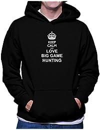 Keep calm and love Big Game Hunting フーディー