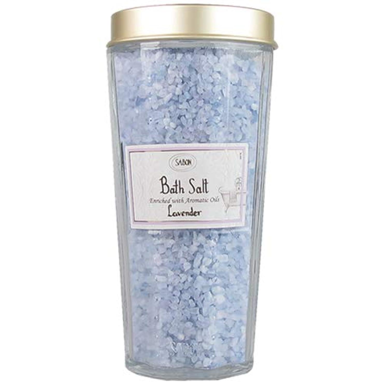 愛国的な姿勢プレミアムサボン バスソルト ラベンダー 350g SABON [入浴剤] Bath Salt [並行輸入品]
