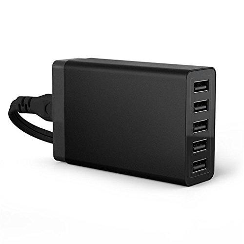 3.0 USB AC充電器,アダプター スマホ充電器 5ポー...