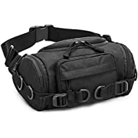 CamGo Tactical Fanny Pack Portable Military Waist Bum Bag for Outdoor Sports Daily Use