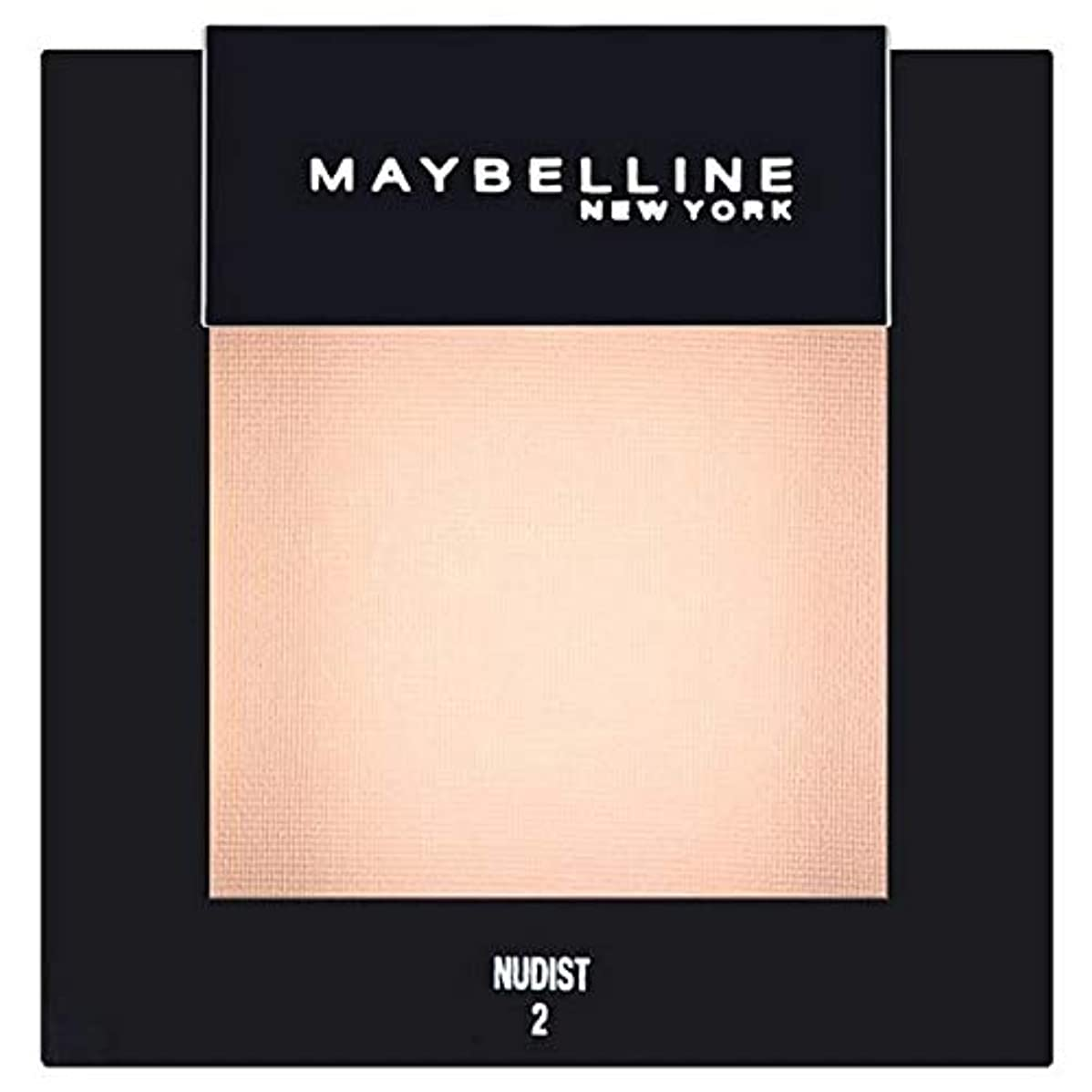教授参加者東方[Maybelline ] メイベリンカラーショーシングルアイシャドウ02ヌーディスト - Maybelline Color Show Single Eyeshadow 02 Nudist [並行輸入品]