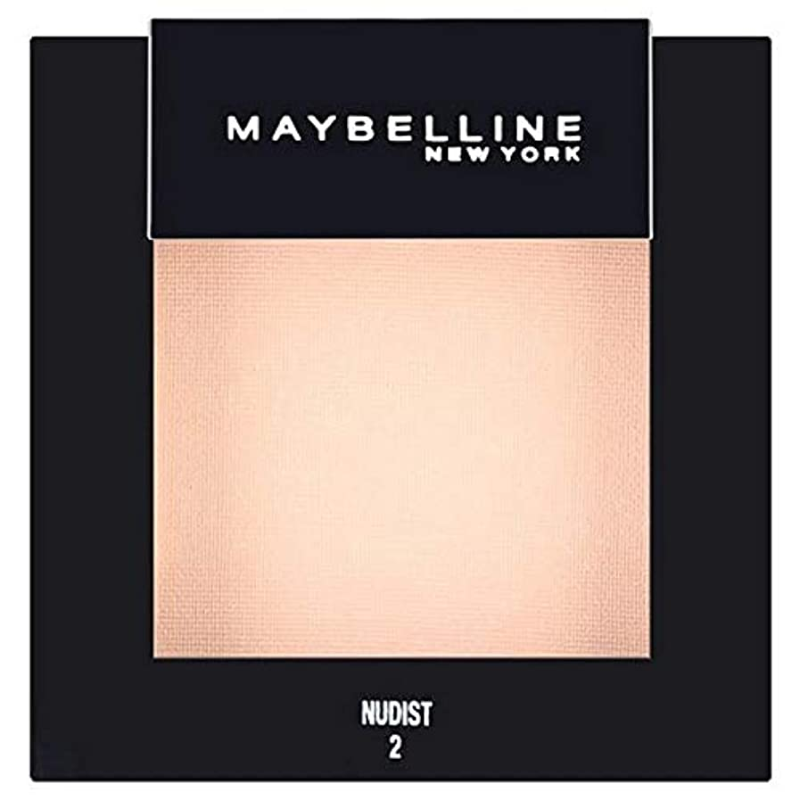 断線スリンクミス[Maybelline ] メイベリンカラーショーシングルアイシャドウ02ヌーディスト - Maybelline Color Show Single Eyeshadow 02 Nudist [並行輸入品]