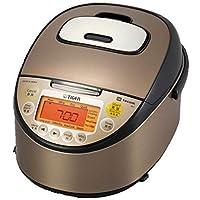 【海外向け】 TIGER IH炊飯器 W銅5層遠赤特厚釜 [JKT-W18W] 1.8L(10CUP) 220V仕様