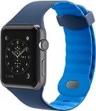 【国内正規代理店品】belkin ベルキン Apple Watch対応スポーツバンド Sports Band for Apple Watch 42mm用(マリーナブルー) F8W730BTC02