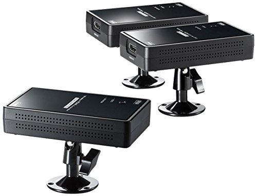 サンワサプライ ワイヤレス分配HDMIエクステンダー(2分配)...