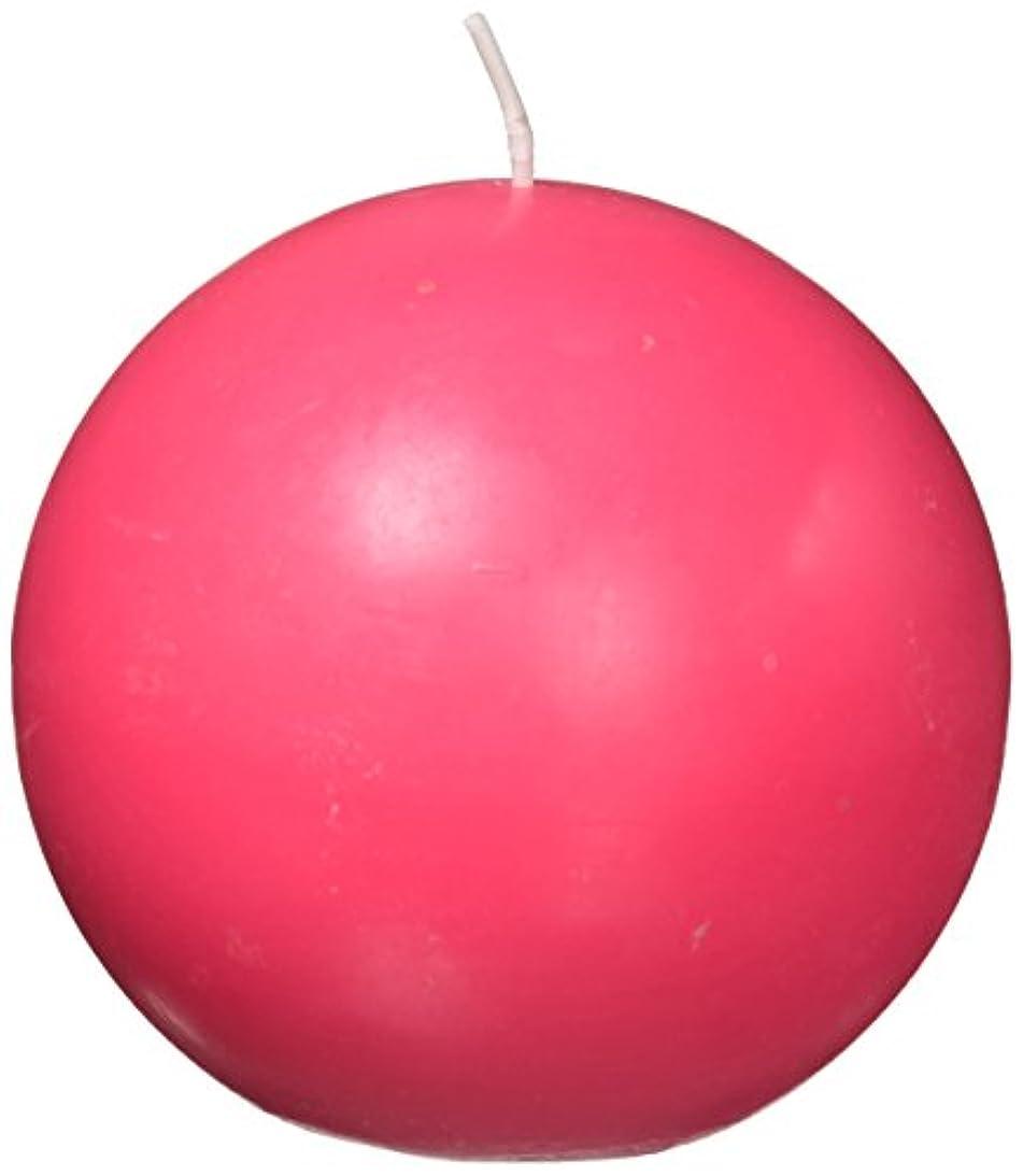 保守的ギャラントリー教育Zest Candle CBZ-027 4 in. Hot Pink Ball Candles -2pc-Box