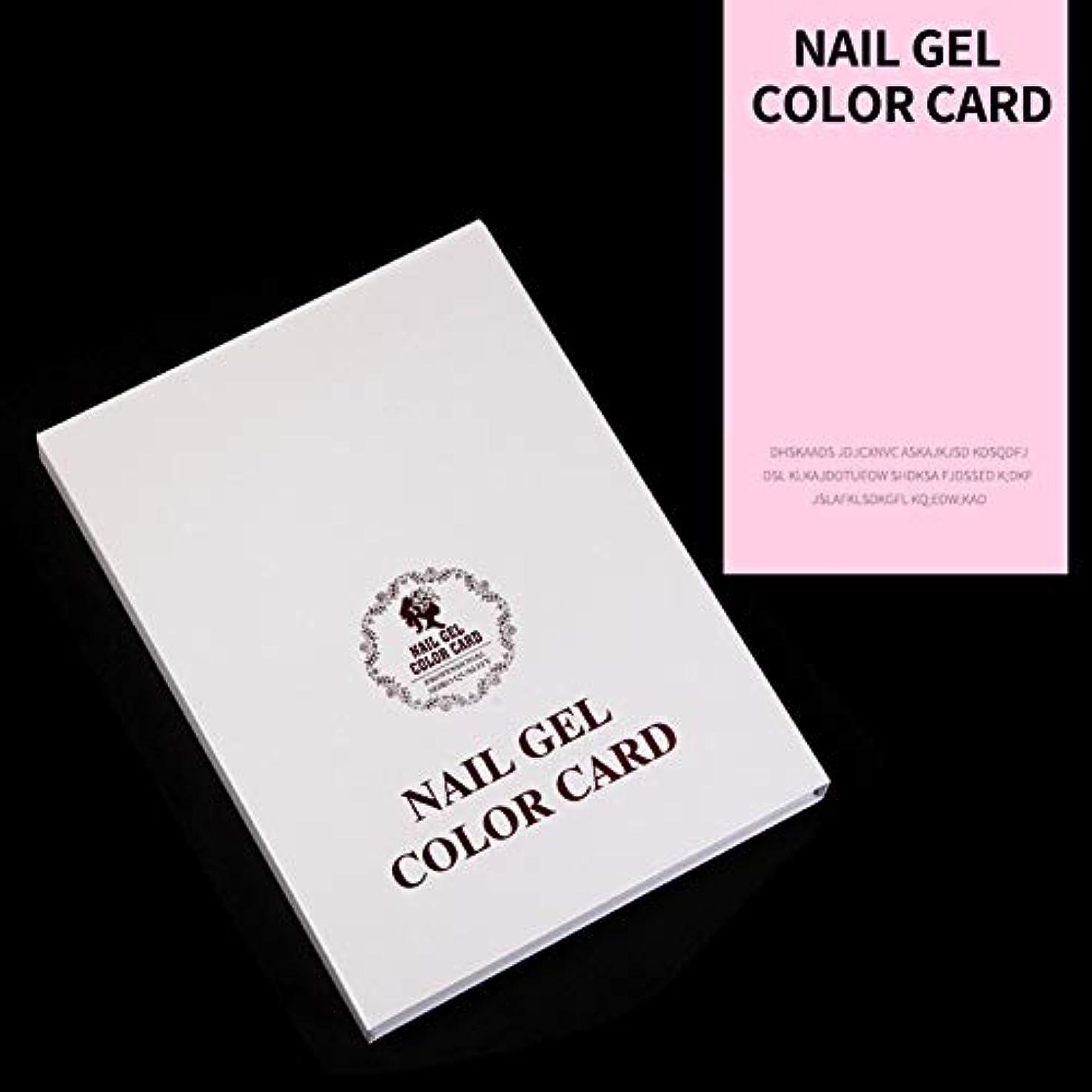 小切手能力遠足ACHICOO ?マニキュアツール偽ネイルカラーブックカラーディスプレイネイルアートジェルポリッシュカラーカードネイルカラーチャート Small color card (120 colors)