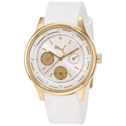 [プーマ] PUMA 腕時計 Men's Wheel Analog Watch 日本製クォーツ PU102742003 メンズ [バンド調節工具&高級セーム革セット]【並行輸入品】