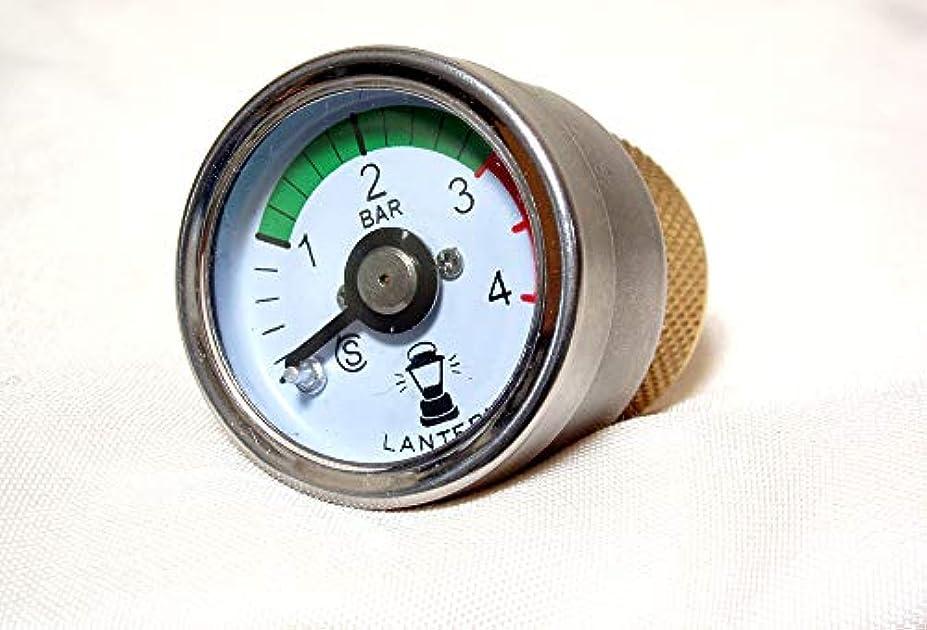 壁大西洋思われるコールマンランタン用、圧力ゲージ?圧力計付きフィラーキャップ ランタン用圧力計