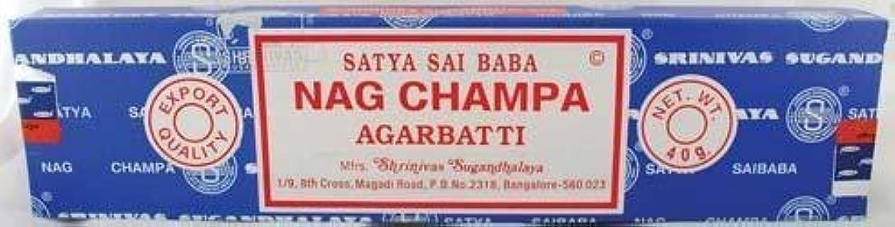 キネマティクスランチウォルターカニンガムNag Champa sticks 40gm * by Unknown [並行輸入品]