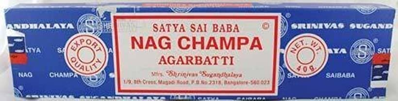 商業の窒息させる信じるNag Champa sticks 40gm * by Unknown [並行輸入品]