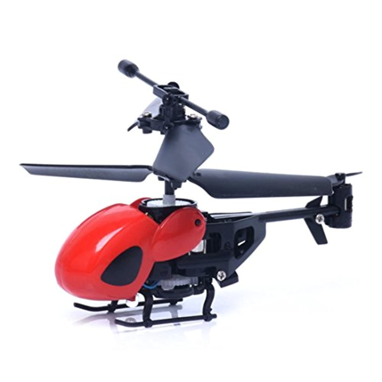 RC Helicopter, Lookatool RC 2CH Mini rc helicopter Radio Remote Control Aircraft Micro 2 Channel, Red by Lookatool