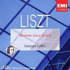 ジョルジュ・シフラ演奏 《リスト:ピアノ作品集》EMI 5枚組の商品写真