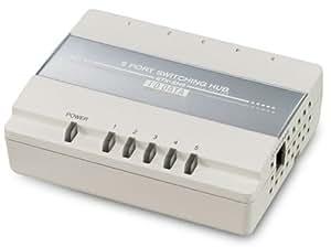 I-O DATA マグネット付き5ポートスイッチングハブ ETX-SH5