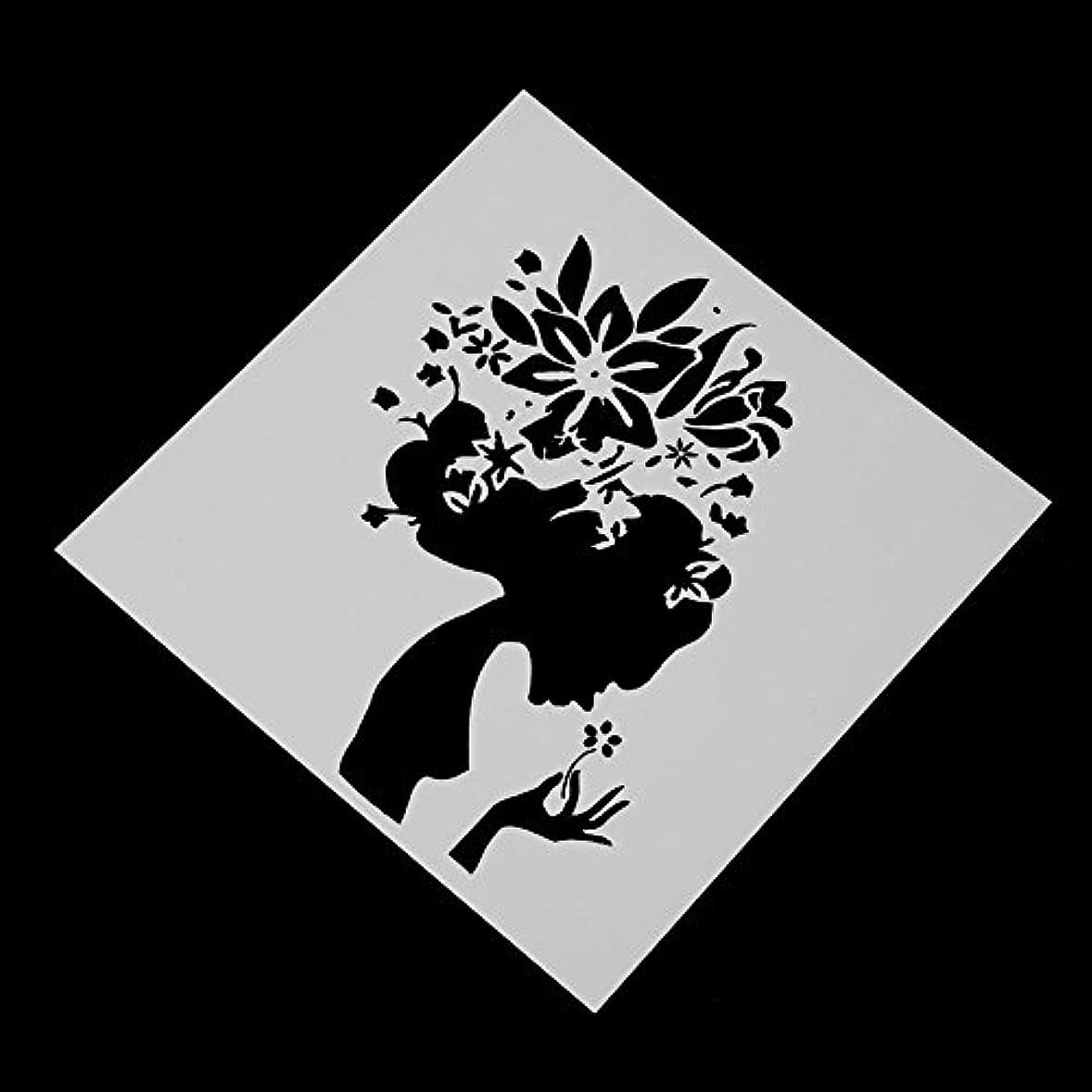 キャプテン累計衣類Demiawaking 製紙工芸品 ギャル 紙カード 炭素鋼製 切削ステンシル 切断モデル エンボス金型 カッティング スクラップブッキング DIYクラフト 製紙工芸品 手作りツール 手芸用品  紙エンボス テンプレート