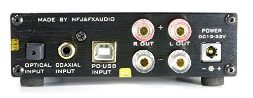 FX-AUDIO- D802J【シルバー】ハイレゾ対応・三系統デジタル入力・フルデジタルアンプ(リモコン付属) オリジナルモデル