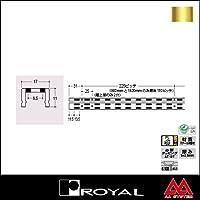 e-kanamono ロイヤル 棚柱 チャンネルサポート(ダブル) AWF-5 3000mm APゴールド