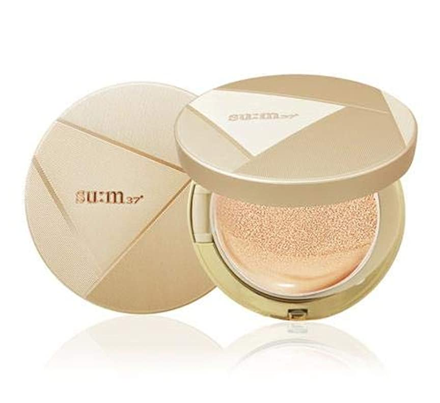 ダイヤモンドヒロイック洗練された[SU:M37] Air Rising Dazzling Moist Micro Foam Cushion SPF50 - #02 Natural Beige 2x15g/0.5oz