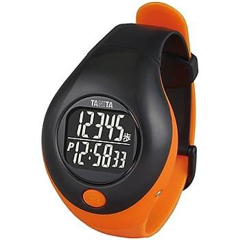 タニタ(TANITA) 手首につける歩数計 (生活防水) オレンジ PD-643-OR
