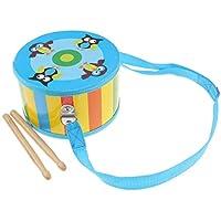B Baosity 木製 ドラム スティック パーカッション 楽器おもちゃ 2色 - #2