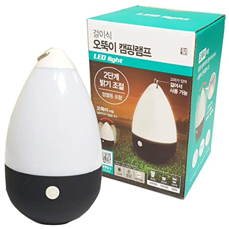 スリーブ海外着るled light Round camping lamp (hanging & standing) かけることができる LEDだるまキャンプランプ - 3段階の明るさ調整(電池別)プレミアム ミニ 明るい キャンプライト 屋外&室内用 ナイトランプ 自宅 庭 アウトドア ハイキング 釣り ポータブル LED懐中電灯 ランプランタン LEDランタン