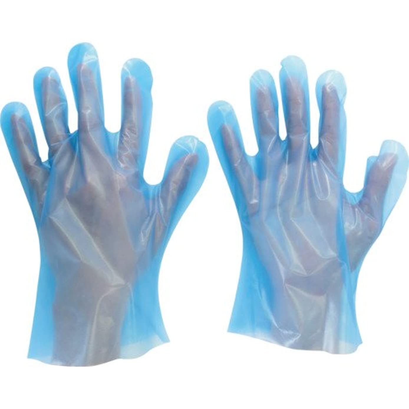 ステートメント不均一怪しいミドリ安全 ポリエチレンディスポ手袋 ベルテ585 100枚 袋入 L(入数:100枚) VERTE-585-L